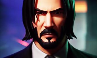 Fortnite : un premier trailer bien badass pour présenter John Wick, incarné par Keanu Reeves