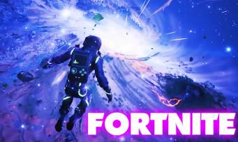 Fortnite : le jeu supprimé jusqu'à la Saison 11, l'île aspirée dans un immense trou noir