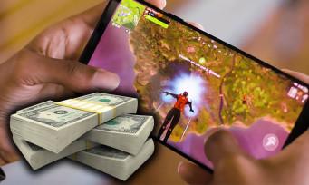 Fortnite : plus d'un milliard de dollars de recettes sur mobiles, merci les microtransactions