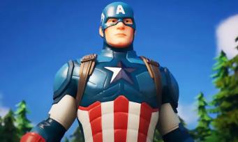 Fortnite : Captain America arrive pour l'Independence Day, la vidéo