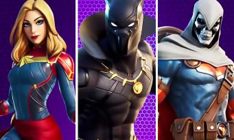 Fortnite : Black Panther, Captain Marvel et Taskmaster arrivent dans le jeu, un trailer et leurs danses