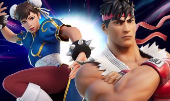 Fortnite : Ryu et Chun-Li de Street Fighter débarquent dans le jeu, voici le trailer officiel