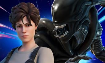 Fortnite : Ripley et le Xenomorphe d'Alien débarquent dans le jeu, y a plus de limite