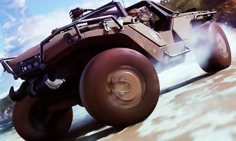 Forza Horizon 4 : une course dans l'univers de Halo complètement démente, voici la vidéo !