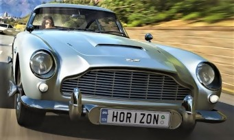 Forza Horizon 4 :  un trailer qui laisse penser que les voitures de James Bond auront leurs gadgets !