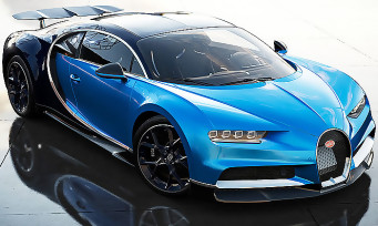 Forza Motorsport 7 : la Bugatti Chiron rugit en vidéo, une nouvelle mise à jour disponible