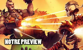 Fury Unleashed : quand Metal Slug rencontre Comix Zone, nos impressions manette en mains !