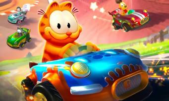 Garfield Kart Furious Racing : un trailer de lancement avec enfin du gameplay, le chat fat & furious
