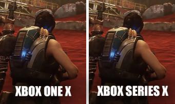Gears 5 : des images comparatives Xbox One X vs. Xbox Series X, les différences sont minimes