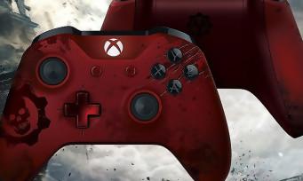 Xbox One Slim : une nouvelle vidéo pour la console collector Gears of War 4