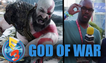 GOD OF WAR : on l'a revu à l'E3 2017 et il fait toujours aussi mal !