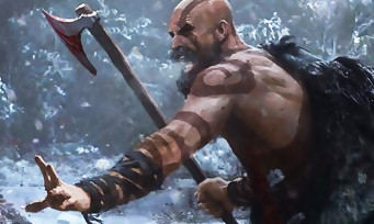GOD OF WAR : de nouvelles illustrations de Kratos et de son fils