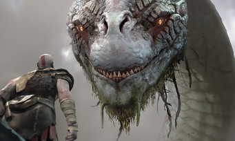 GOD OF WAR : le serpent géant de Midgard repoussera les limites de la PS4