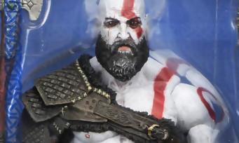 GOD OF WAR : la figurine Kratos de NECA Toys en dit long sur la date de sortie du jeu
