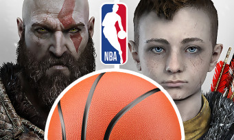 GOD OF WAR : Kratos et son fils s'offrent une apparition spectaculaire lors d'un match de NBA