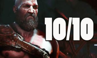 GOD OF WAR : une déferlante de 10/10 dans le monde, le jeu hissé au rang de chef d'oeuvre absolu