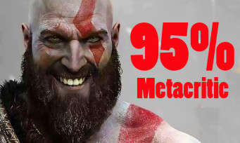 GOD OF WAR passe à 95% sur Metacritic et devient l'égal de Red Dead et de The Last of Us