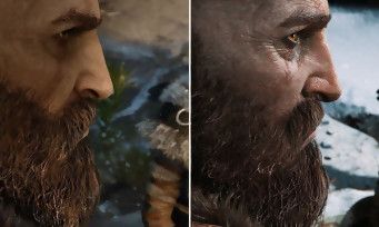 GOD OF WAR : un comparatif vidéo entre la version E3 2016 et la version finale sur PS4 Pro