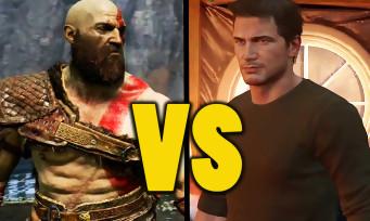 God of War VS Uncharted 4 : qui est le plus beau jeu PS4 ? Comparons les deux jeux en 4K !