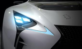Gran Turismo 6 : la LEXUS LF-LC GT Vision Gran Turismo en images
