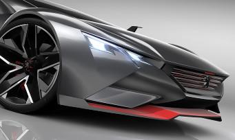 Gran Turismo 6 : la sublime Peugeot Vision arrive dans le jeu