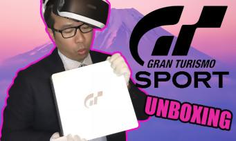 PS4 : voici notre unboxing de la console collector spéciale Gran Turismo Sport