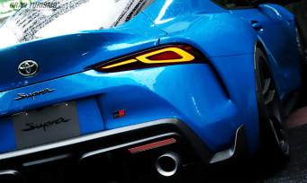 Gran Turismo Sport : découvrez la nouvelle Toyota Supra dans de somptueuses images