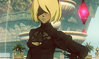 Gravity Rush 2 : Kat avec le costume sexy de 2B (NieR Automata) grâce à un DLC gratuit