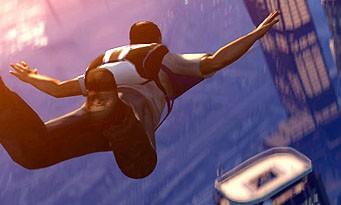 GTA 5 : un saut en parachute avec coucher de soleil