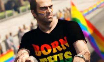 GTA 5 : la Gay Pride débarque dans les rues de Los Santos grâce à un mod