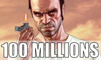 GTA 5, c'est désormais plus de 100 millions de jeux distribués dans le monde