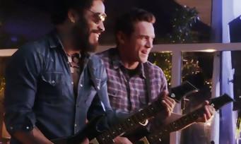 Guitar Hero Live : le making of de la vidéo avec James Franco et Lenny Kravitz