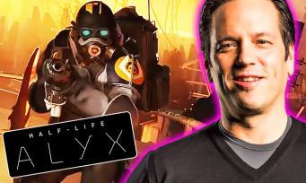"""Half-Life Alyx : Phil Spencer, le patron d'Xbox, a joué au jeu et le trouve """"incroyable"""""""