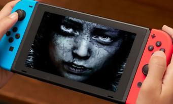 Hellblade : la version Switch s'offre un trailer de lancement aliéné