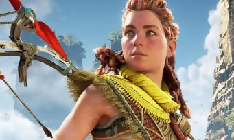 Horizon Forbidden West : 14 min de gameplay sur PS5 en 4K, Aloy a un grappin et une paravoile