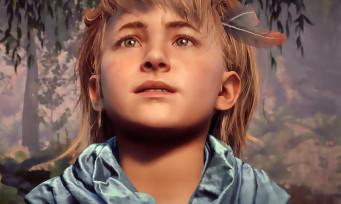 Horizon Zero Dawn : on pourra jouer avec Aloy enfant, la preuve en vidéo