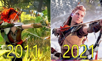 Horizon Zero Dawn : l'évolution du jeu, du prototype de 2011 à la version finale de 2017, des changements importants