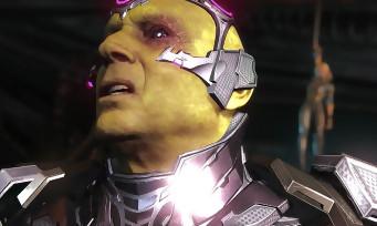 Injustice 2 : au tour de Brainiac de nous montrer sa méchanceté en vidéo