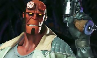 Injustice 2 : Hellboy arrive bientôt en DLC, voici un gros trailer de gameplay