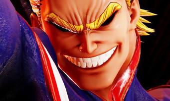 Jump Force : All Might de My Hero Academia rejoint le casting, il s'annonce sans pitié