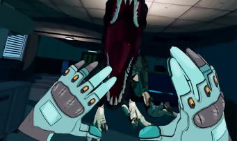 Jurassic World Aftermath : un jeu VR annoncé sur Oculus, le trailer tout en cel shading