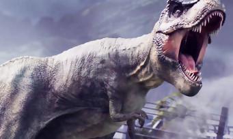 Jurassic World Evolution : une vidéo remplie de dinosaures