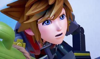 Kingdom Hearts 3 : un trailer de 5 min où Sora est un jouet dans le monde de Toy Story