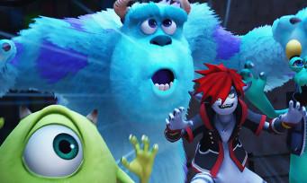 Kingdom Hearts 3 : Sora et ses amis s'invitent dans Monstres et Cie en vidéo