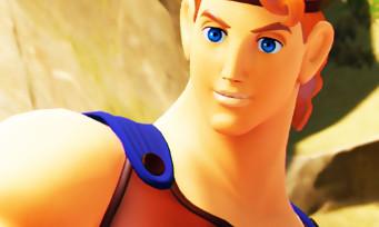 Kingdom Hearts 3 : Hercule à l'honneur dans une grosse galerie de screens héroïque