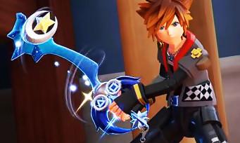 Kingdom Hearts III : des Keyblades alternatives montrées en vidéos, voici comment les obtenir