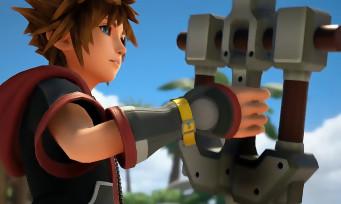 Kingdom Hearts 3 : une vidéo de gameplay qui présente les mécaniques avec les Keyblades