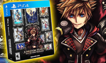 """Kingdom Hearts : découvrez l'ultime et magnifique compilation """"All-In-One Package"""" prévue sur PS4"""