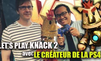 Knack 2 : on a fait un Let's Play avec Mark Cerny, le créateur du jeu et architecte de la PS4