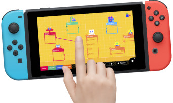 Switch : Nintendo sort une app pour créer ses propres jeux vidéo, le Dreams de la Switch ?